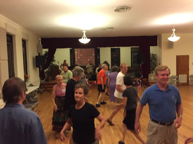 Dancing at Second Presbyterian Church