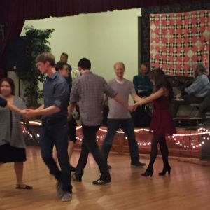 Dancing at Second Presbyterian Church